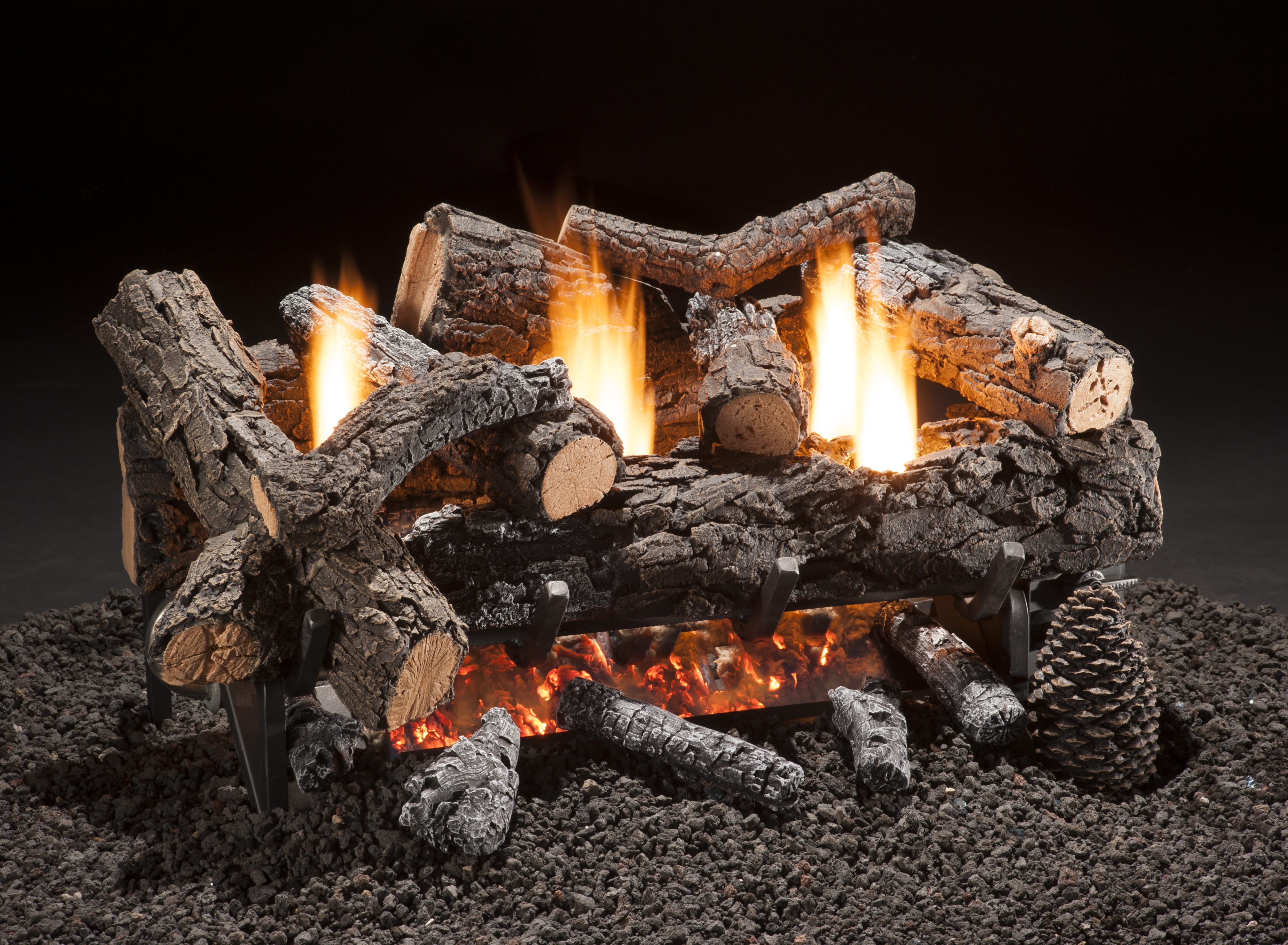 fireplaces basics fancy fireplace logs gas ventless ceramic ideas also aifaresidency of safe are com