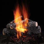 Hill County Oak Vented Gas Logs by Hargrove