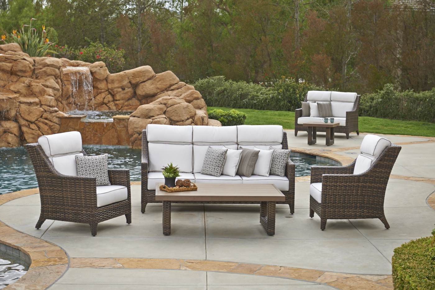 North Cape Avant Georgetown Fireplace And Patio - North cape outdoor furniture