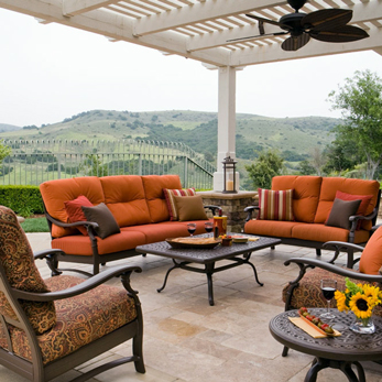 Complete Patio Groups Georgetown Fireplace And Patio