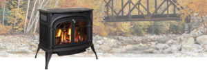 Radiance Vent Free Gas Stove by Vermont Castings