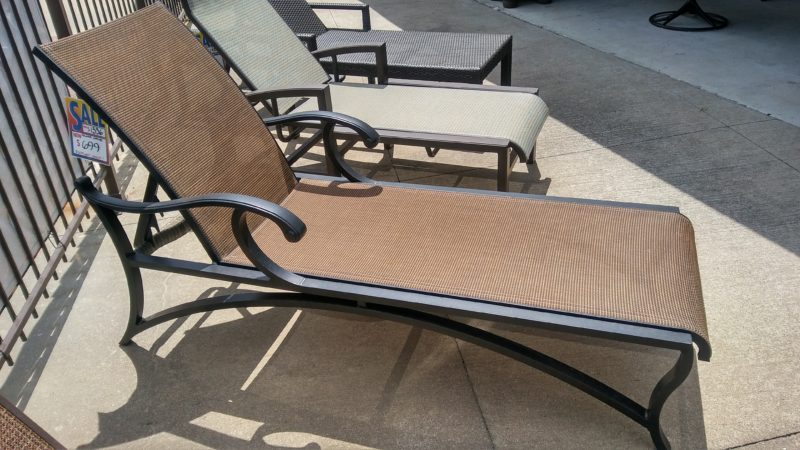 Clearance patio georgetown fireplace and patio for Chaise lounge clearance