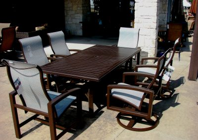 Lakeside Classic Large Dining Set