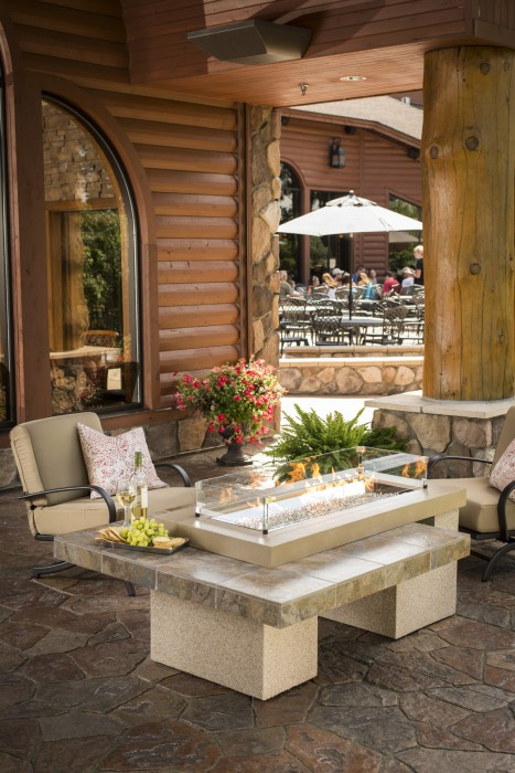 Outdoor Greatroom Company Georgetown Fireplace And Patio