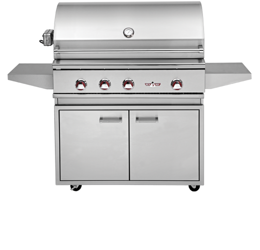 Delta Heat 38 Premier Portable Stainless Gas Grill