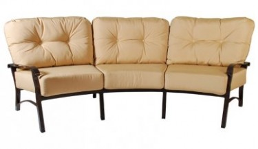 Georgetown Fireplace And Patio Cortland Crescent Sofa