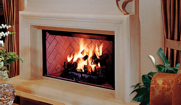Wood burning fireplaces georgetown fireplace and patio for Astria fireplace
