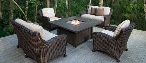 patio furniture georgetown fireplace and patio. Black Bedroom Furniture Sets. Home Design Ideas