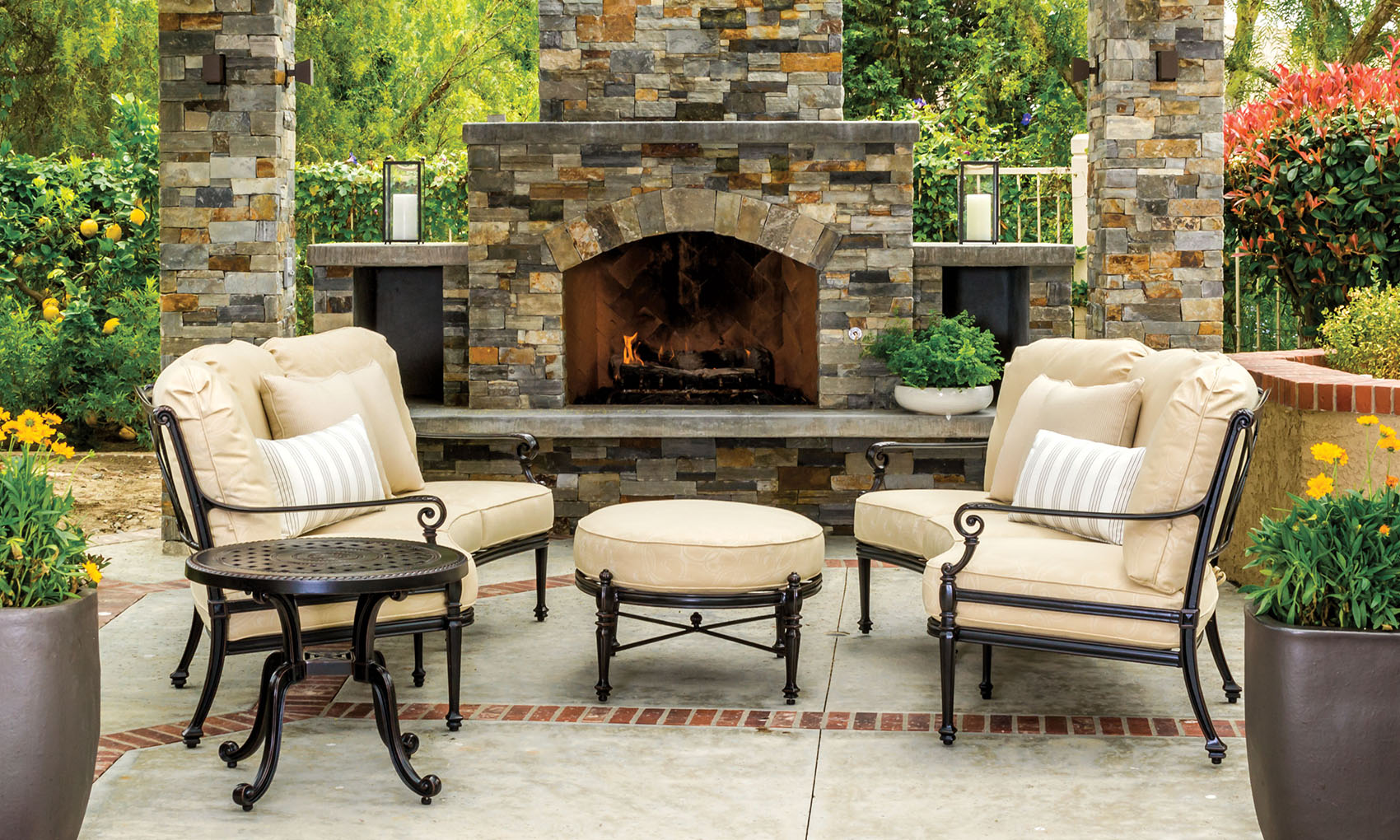 Patio Furniture Georgetown Fireplace And Patio .