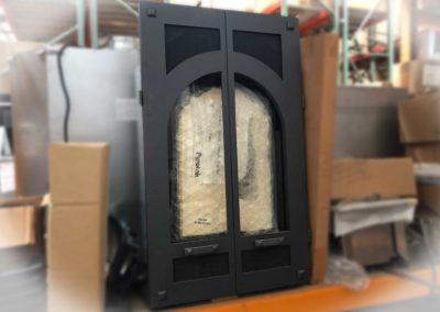 Gas Fireplace for Small Space Millivolt Control