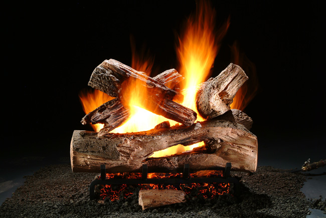 Mountain Timber Vented Gas Logs by Hargrove