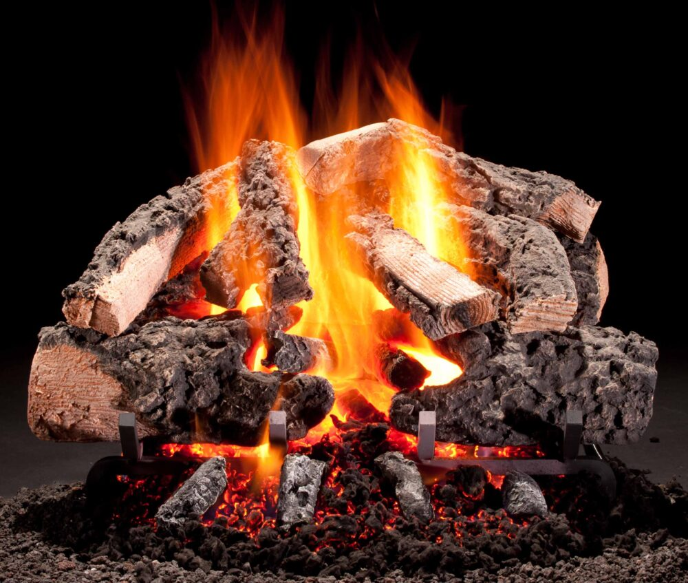 Woodland Timbers Vented Gas Logs by Hargrove