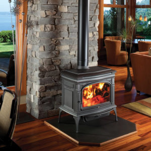 Cape Cod Wood burning Stove by Lopi