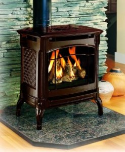 Champlain Direct Vent Gas Stove by Hearthstone