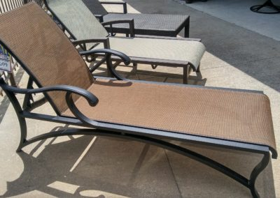 Mallin Volare Sling Chaise Lounge