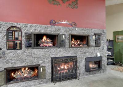 Fireplace Wall-Angle View