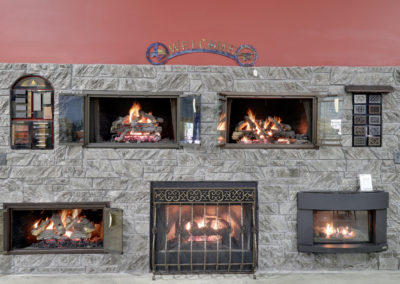 Fireplace Wall- Gas Logs Models