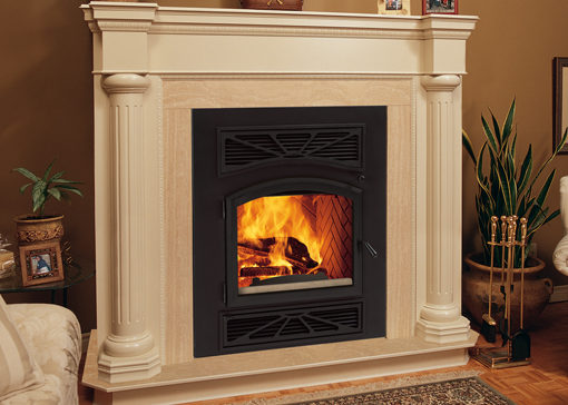 Villa Vista Wood Burning Fireplace
