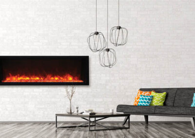 Amanti Electric Fireplace 50 BI Xtra Slim