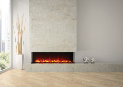 Amanti Electric Fireplace 60 Tru View XL